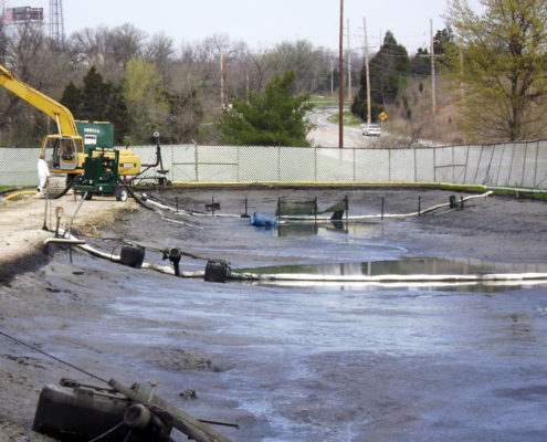 NPN Environmental Remediation Services After Lagoon Cleanout