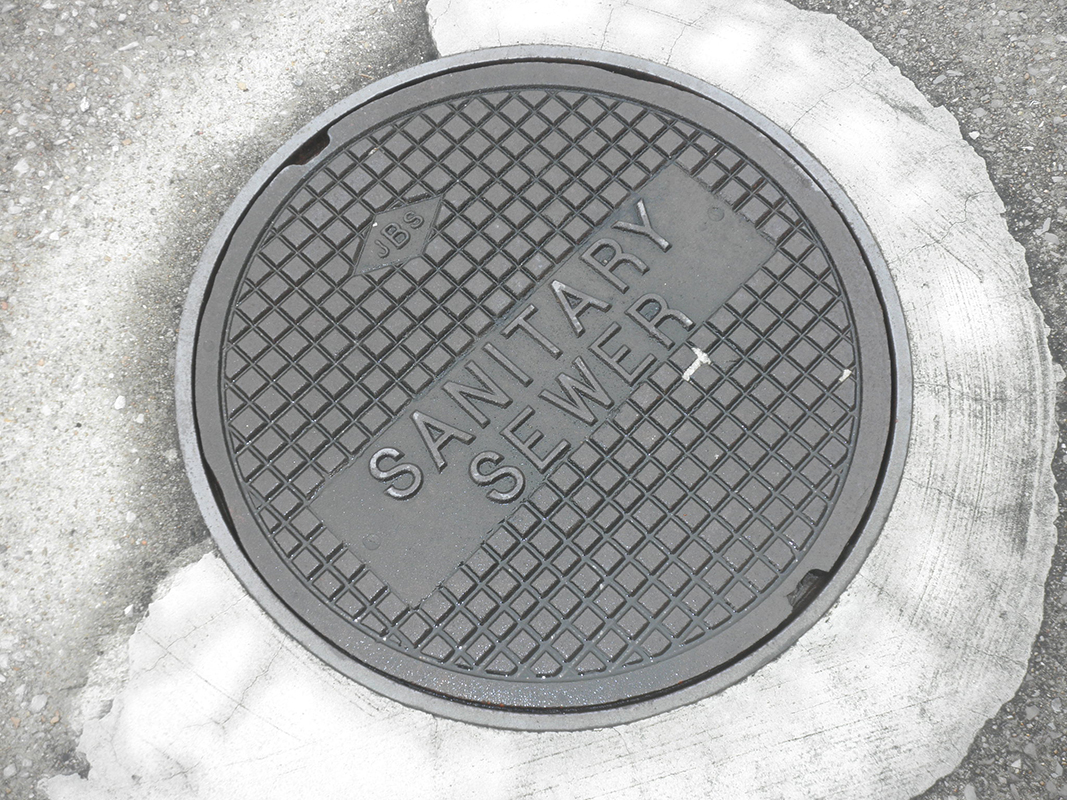 NPN Environmental water quality management sanitary sewer lid