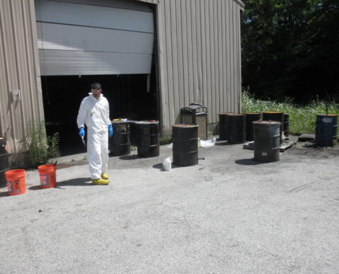 NPN Environmental Remediation Services Drums