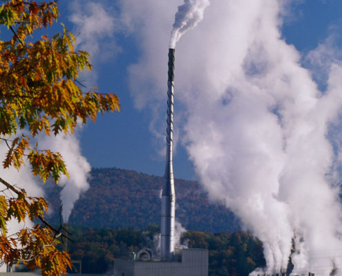 NPN Environmental air quality stack