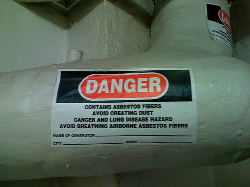 NPN Environmental Asbestos & LBP Management Asbestos Label