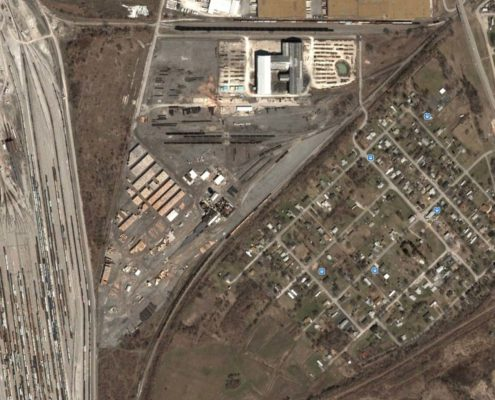 NPN Environmental Facility Decommissioning Aerial Site View