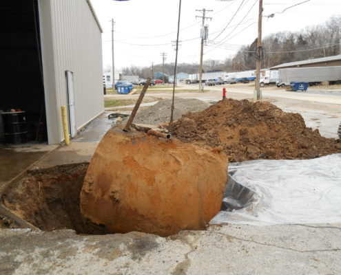 NPN Environmental Tank & Container Management underground storage tank removal