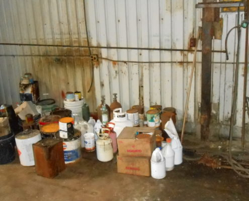 NPN Environmental Tank & Container Management Staging Waste