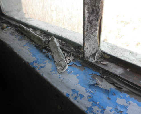 NPN Environmental Asbestos & LBP Management Suspect Lead paint windowsill