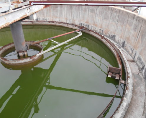 NPN Environmental Facility Decommissioning Clarifier Cleaning and Demo