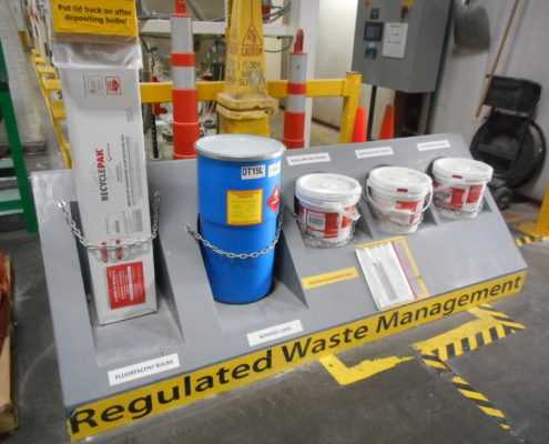 NPN Environmental Regulatory Compliance Waste Management Staging Area