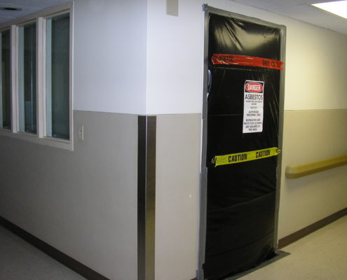 NPN Environmental Asbestos & LBP Management sealed door